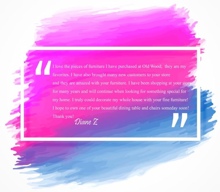 DianeZ Testimonial